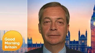 Nigel Farage Responds to Ann Widdecombe's Comment on Homosexuality | Good Morning Britain