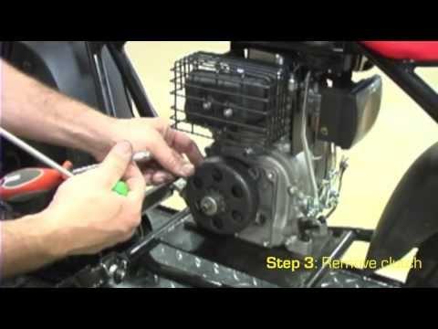 Motovox MBx10 Mini Bike - Clean & Lubricate the Clutch