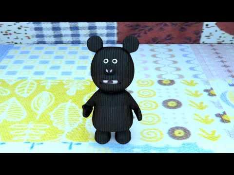Animacion 3d, juana oso