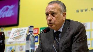 Rueda de prensa de Fernando Roig, presidente del Villarreal CF