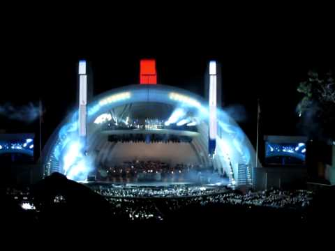 Blue Man Group - Opening Number - Hollywood Bowl - Sept. 7 2013 video
