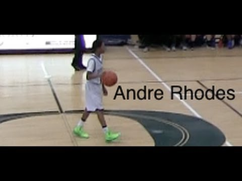 MVP 2013-2014 | Andre Rhodes #11 | 8th Grade | The Oakridge School Basketball - 03/01/2014
