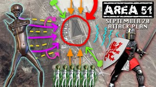 Official Area 51 Attack Plan