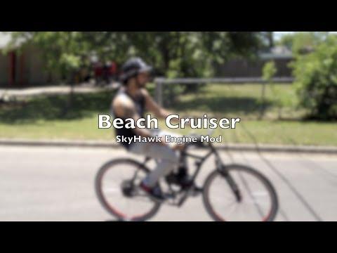 Beach Cruiser - Grubee Skyhawk 66cc Engine Mod