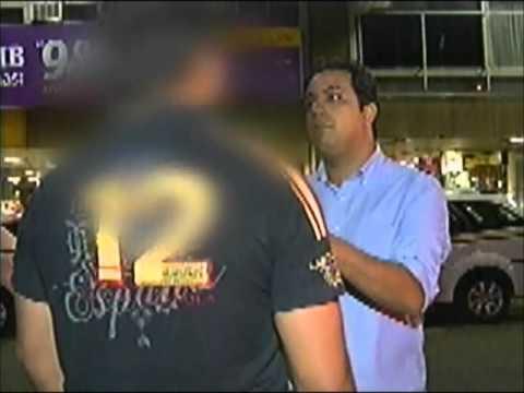 Travesti e homem pedem corrida para motel e assaltam taxista
