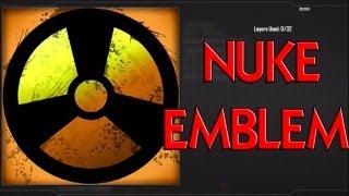 Nuke Symbol - EASY Black Ops 2 Emblem Tutorial