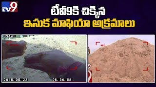 sting on Hyderabad sand mafia