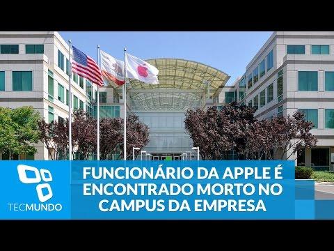 Funcionário da Apple é encontrado morto no campus da empresa