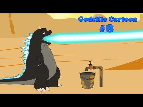 Godzilla, Shin Godzilla, Dinosaur - FUNNY #7   24 Min Compilation   Godzilla Cartoons For Children