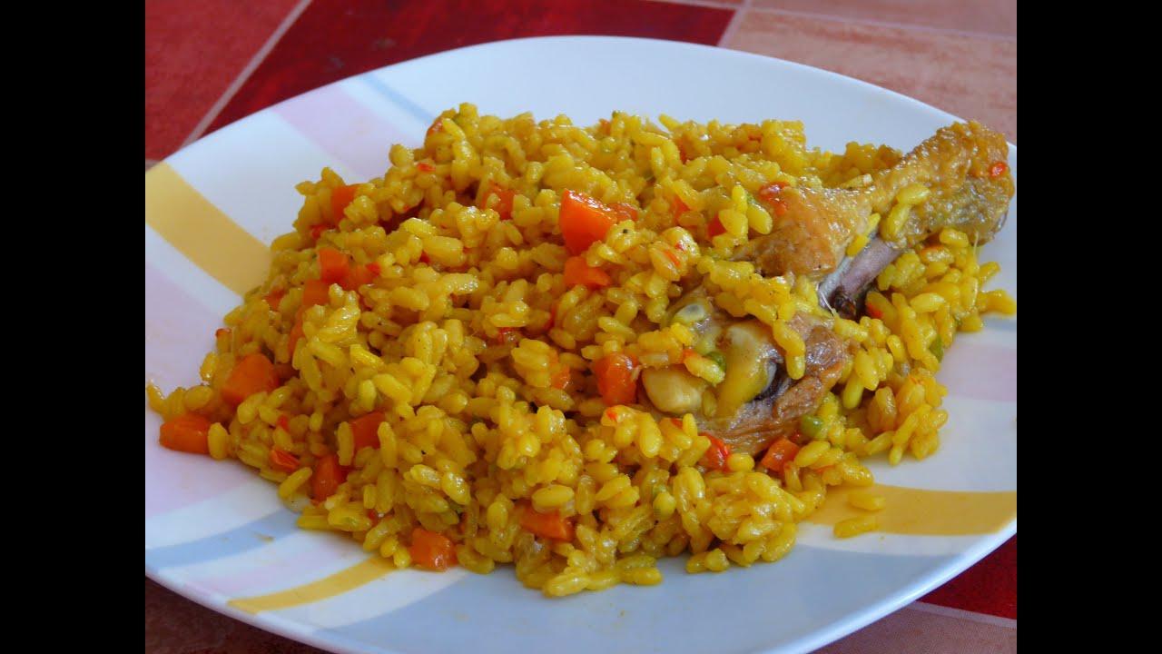 Cocina f cil arroz con pollo y verduras rice with for Cocinar facil