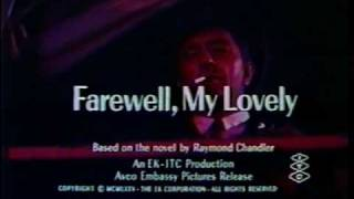 Farewell, My Lovely 1975 theatrical trailer