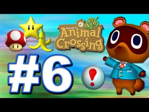 Animal Crossing: New Leaf 3DS Walkthrough / Let's Play - Animal Crossing: New Leaf