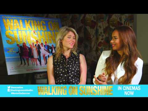 Hannah Arterton & Leona Lewis Interview Clip: Did you have fun making the film? [Vertigo Films]