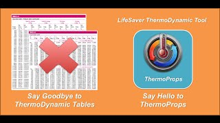 ThermoProps - Thermodynamic Property Calculator. Save your time and effort.