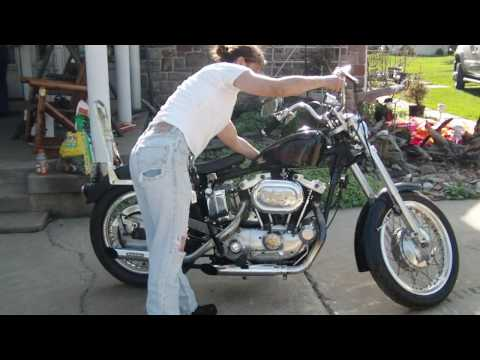 Harley Davidson 1970 XLCH Sportster European Style Video