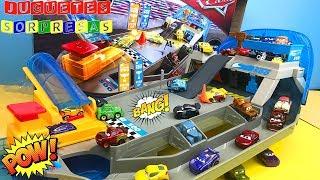 ROLLIN' RACEWAY Disney pixar Cars 3 Carros de Carrera para niños - Pista de Coches