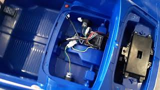 ASSEMBLING FOR BATTERY OPERATED RIDE ON BABY CAR 8202,BABY CAR,BABY VEHICLE,I NET