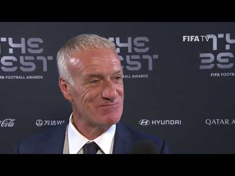 Didier Deschamps interview - The Best FIFA Men's Coach 2018 (FRENCH)