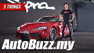 2019 Toyota Supra GR GTS A90, 5 Things - AutoBuzz.my