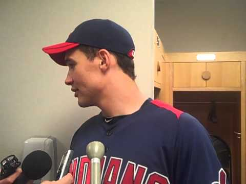 March 20, 2011: Grady Sizemore following 2011 debut
