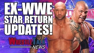 Kurt Angle Returning To WWE In April!? Huge Wrestlemania Announcement! | WrestleTalk News Jan. 2017