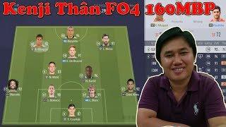 FIFA ONLINE 4| Đội hình FO4 Khủng của Kenji Thân giá trị hơn 160,000,000 BP với Ronaldo NHD