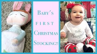 BABY'S FIRST CHRISTMAS STOCKING!