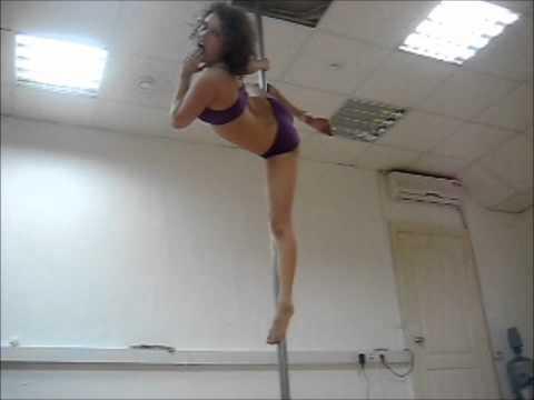 o pole dance с юмором :)