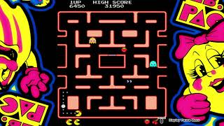 Ms pac man first level tips