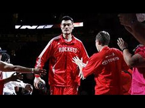 Yao Ming's Top 10 Plays of his Career