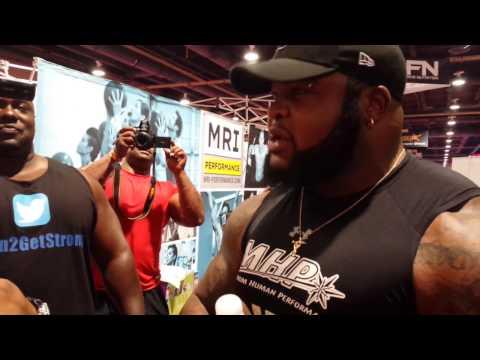 Da Hulk Showdown at the Olympia with Leroy The Machine Walker