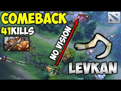 Levkan Pudge Comeback [with 41 Frags Crazy TECHIES] Dota 2