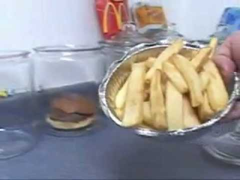 How Nasty Are McDonalds Fries? Video