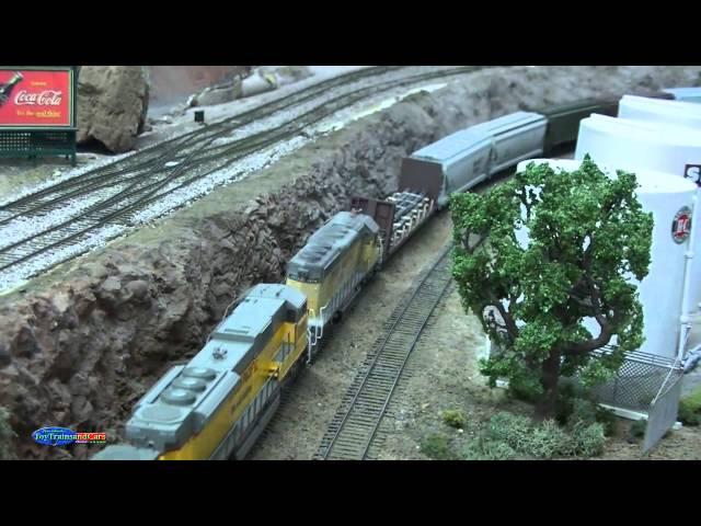 HO Scale Model Train 38