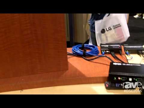 DSE 2016: Tripp-Lite Displays 4×4 HDMI Matrix Transmitter Switcher With HDBaseT