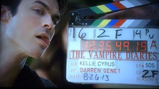 The Vampire Diaries Season 5 Bloopers [Altyazılı]
