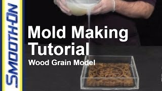 How To Make a  Silicone Mold of a Wood Carving - Reproducing a Wood Grain Finish