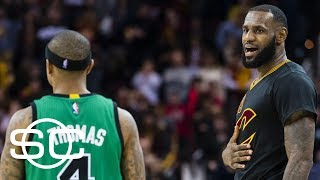LeBron James' lack of Isaiah Thomas acknowledgement a sign?   SportsCenter   ESPN