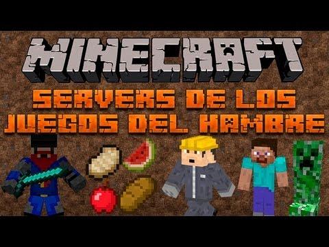 Servers Los Juegos Del Hambre MINECRAFT 1.5.2 - 1.7.4 [NO PREMIUM Y PREMIUM] [NO