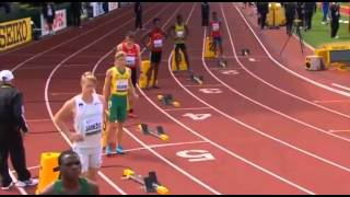 IAAF World Junior Championships 2014 - Men's 200 Metres Preliminaries Heat 7