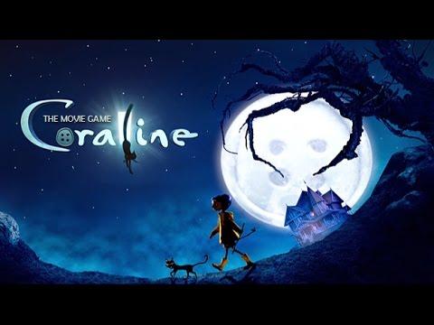 CORALINE 2009 ENGLISH FULL Game MOVIE. All Cutscenes Cinematics l Games for Kids