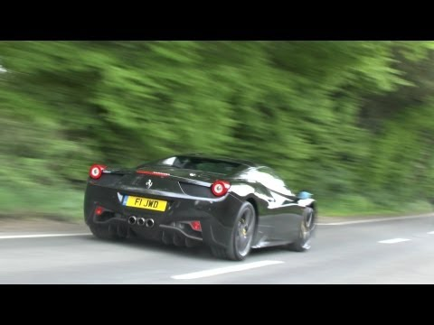 LOUD SUPERCAR ACCELERATIONS from Cliveden House - GT2 RS, Aventador, 599 GTO, 458, LP560, 8C!!