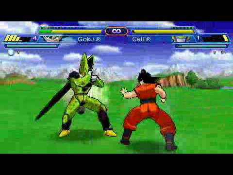 [PSP] Dragon Ball Z - Shin Budokai Another Road Gameplay