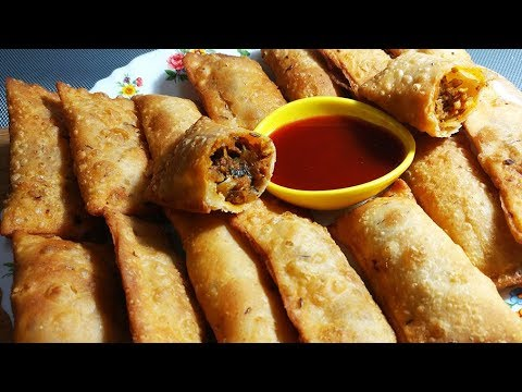 Hyderabadi Warqi Luqmi /Dakkani Luqmi/ Starter /Snack Recipe