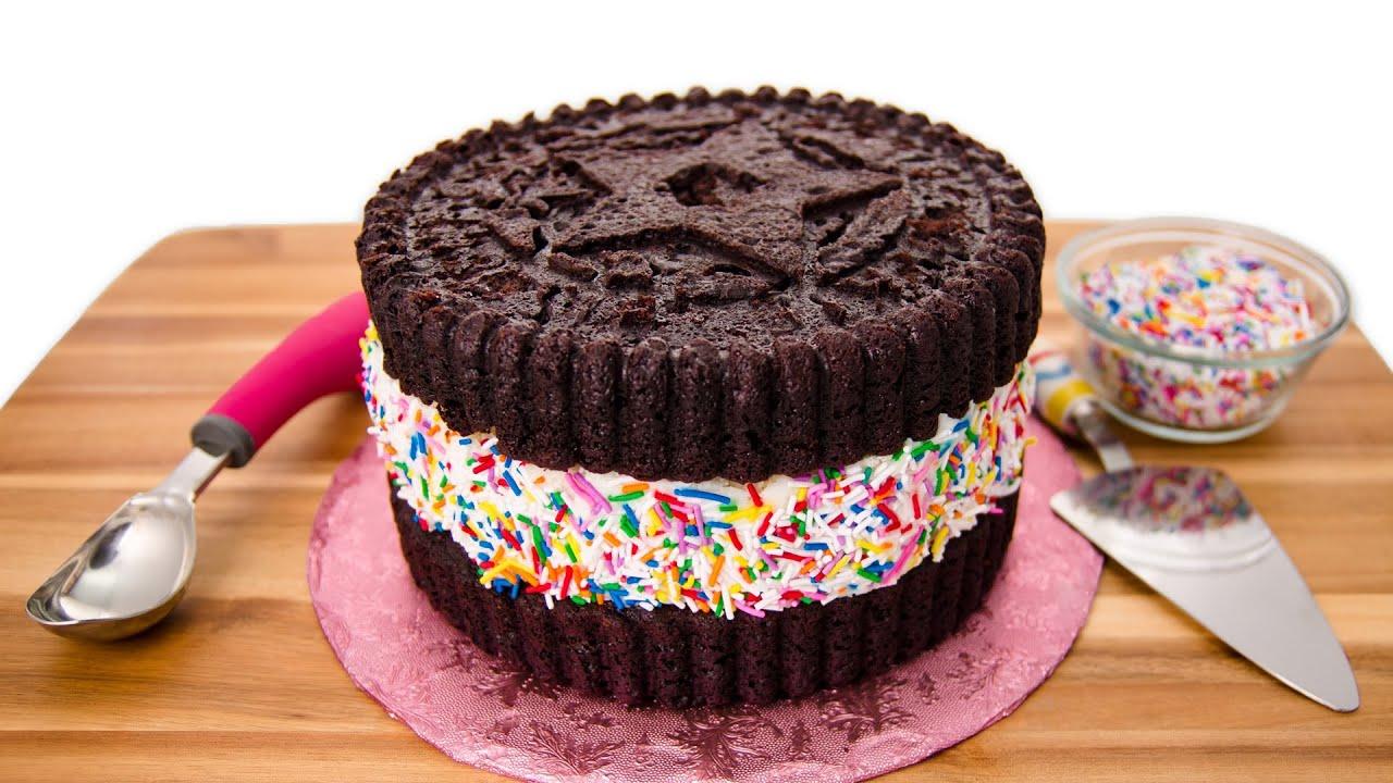 Oreo Ice Cream Cake Giant