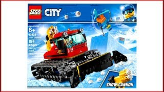 LEGO CITY 60222 Snow Groomer Construction Toy - UNBOXING