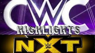 WWE NXT and CWC 20 July 2016 Highlights/WWE NXT y CWC 20 Julio 2016 Highlights