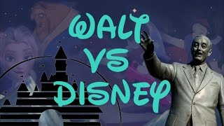 Walt vs Disney Analysis : The Artist vs The Machine
