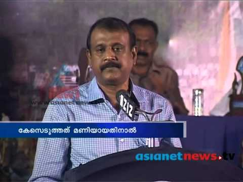 Intelligence ADGP T P Sen Kumar againt police case on Kalabhavan Mani