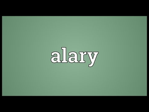 Header of alary
